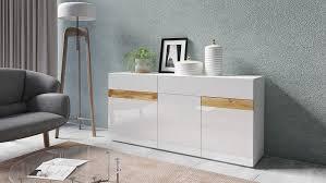 sideboard wohnzimmer anbauwand schrank weiß hochglanz votaneiche neu 95590301 ceres webshop