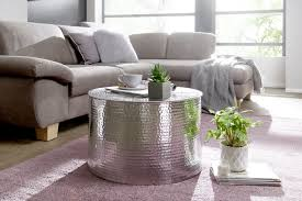 wohnling couchtisch silber wl5 481 aus aluminium silber