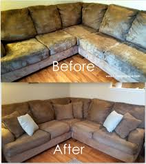 how to clean a microfiber couch i bet this would work on any type