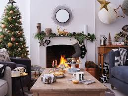 Country Style Living Room Decorating Ideas by 5 Easy Christmas Living Room Decor Ideas Good Homes Magazine