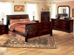 lifestyle 5933 cherry louis philippe full bedroom set