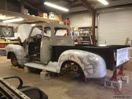 1952 CHEVY 5 WINDOW 3100 CUSTOM TRUCK , RAT ROD , PRO TOURING ,