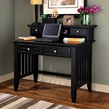 Black Writing Desk With Hutch by Office Furniture Mission Furniture Craftsman Furniture