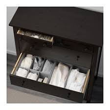 commode hemnes 6 tiroirs hemnes commode à 6 tiroirs brun noir ikea