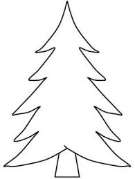Clip Arts Related To Christmas Tree Cut Out Template