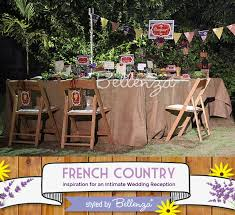 French Country Wedding With Intimate Details For A Home Gathering