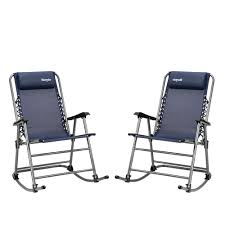 Bonnlo 2 PCS Foldable Rocking Chair Patio Lawn Chair, Beach Reclining  Folding Chairs, Outdoor Portable Recliners For Camping Fishing Beach (Blue) First Choice Lb Intertional White Resin Wicker Rocking Chairs Fniture Patio Front Porch Wooden Details About Folding Lawn Chair Outdoor Camping Deck Plastic Contoured Seat Gci Pod Rocker Collapsible Cheap For Find Swivel 20zjubspiderwebco On Stock Photo Image Of Rocking Hanover San Marino 3 Piece Bradley Slat