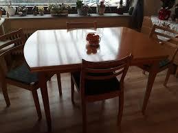 esszimmertisch ausziehbar mit 8 stühlen