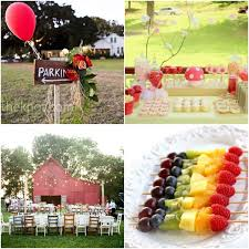 Fantastic 18th Birthday Party Ideas Village Garden Theme