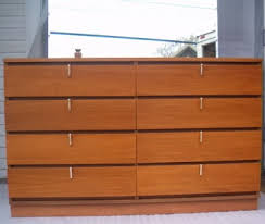 Johnson Carper 6 Drawer Dresser by Johnson Carper Mid Century Modern Chest W Mirror Vintage Loves