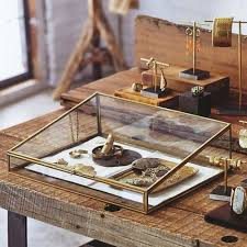 Beautiful Brass Jewelry Box Perfect Show Display Idea
