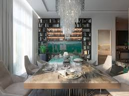 4 Contemporary Style Open Concept Living Dining Room