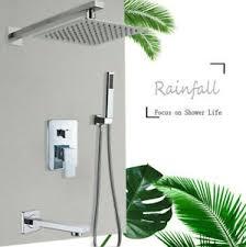 wasserfall unterputz duschset bad duscharmaturen wasserhahn