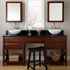 Bathroom Vanities With Matching Makeup Area by Double Sink Bathroom Vanity With Makeup Table Best Bathroom