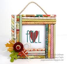 Rolled Paper Frame Amanda Coleman Epiphany Crafts Blog