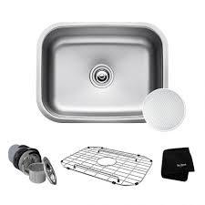 White Kitchen Sink 33x22 by Kitchen One Bowl Kitchen Sink Ticor Sinks Stainless Steel