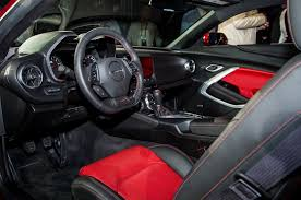2016 Chevrolet Camaro Revealed Inside the New Sixth Gen Camaro