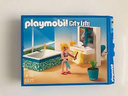 playmobil modernes badezimmer 5577 für luxusvilla citylife