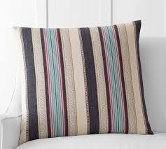 madrid stripe pillow cover pottery barn