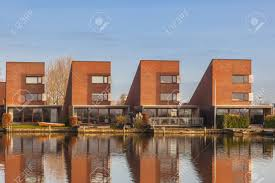 104 Water Front House Modern S In Leeuwarden Zuiderburen The Netherlands Stock Photo Picture And Royalty Free Image Image 27720444