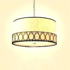 Lighting Drum Shade Chandelier Chandeliers Pendant Light Chic On