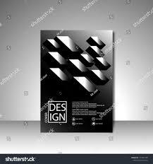 100 Modern Design Magazines Book Cover Flyers Stock Vector