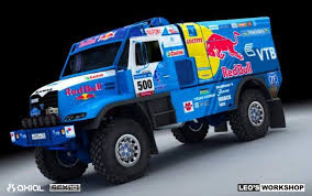 Axial Racing - Custom Build: SCX10 DAKAR RALLY TRUCK By LEO WORKSHOP