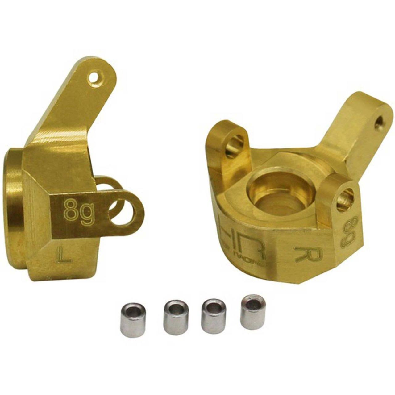 Hot Racing SXTF21H - Brass Front Steering Knuckle SCX24