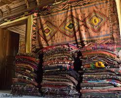 Piles Of Rugs On The Third Floor Yunus Shop