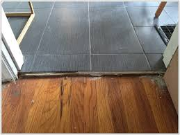 wood floor to tile transition tiles home decorating ideas
