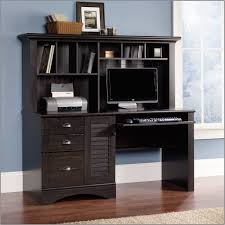 extraordinary computer desk with hutch black fancy interior design