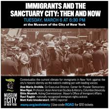 Immigrants And The Sanctuary City Then Now