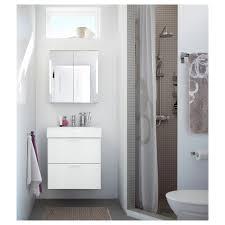 storjorm spiegelschrank m 2 türen int bel weiß 60x21x64 cm
