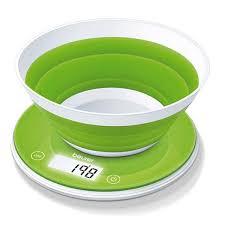 balance cuisine balance de cuisine avec bol souple 1 6 litre ks45 beurer