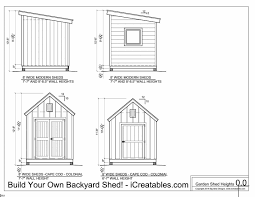 12x24 Shed Plans Materials List by Shed Plans Heights Find Out How Tall Your Shed Will Be