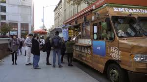 100 The Empanada Truck College Students Hanging Out By Food Truck Purchasing Empanadas On