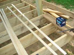 Floor Joist Spacing Shed by How To Build A 12x20 Cabin On A Budget 15 Steps With Pictures