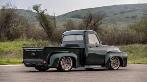Classic Car Studio's 1953 Ford F100 Restomod Review: The Fancy Truck ... 1953 Ford F100 1957 Chevrolet 1948 Trucks Hot Rod Fseries Second Generation Wikipedia Truck Stock Photos Images Alamy Classic Car Studios Restomod Review The Fancy For Sale Near Cadillac Michigan 49601 Classics On Rob Campbell Total Cost Involved 31956 Archives Chip Foose Customized Fetches 1700 At Auction Pick