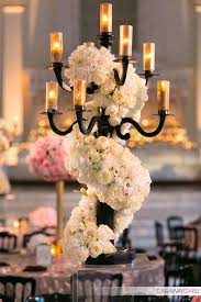Amazing Centerpiece At Vibiana Wedding By Tic Tock Couture Florals