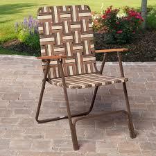 Rio Deluxe Folding Web Lawn Chair