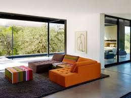 Colorful Retro Living Room Ideas With Modern Look