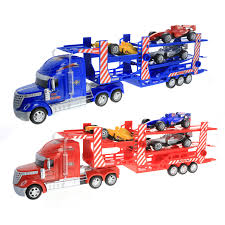 100 Toy Car Carrier Truck Buy 128 RC Race Transport Rier Remote Control Semi
