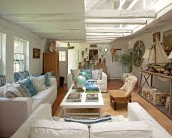 Rustic Beach Modern House Plan Decor With Home Living Room