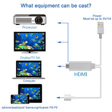 High definition television cable 2m HDTV vedio cable mirror your