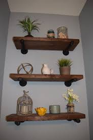 Modern Rustic Shelves Floating Ideas