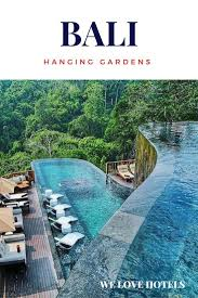 104 Hanging Gardens Bali Hotel In Indonesia The Luxury In Swimming Pool Garden
