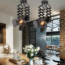 industrial pendelleuchte hängele esszimmer deckenleuchte vintage pendelle