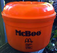 Mcdonalds Halloween Buckets by 1980s Mcdonald U0027s Halloween Pails Dinosaur Dracula