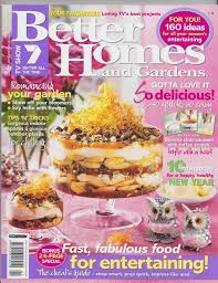 100 House And Home Magazines Better Homes And Gardens Brooke Shields Amusing Better Home