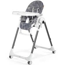 Shop Peg Perego Prima Pappa Zero 3 High Chair Denim | TJSKIDS.COM